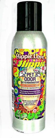Hippie Love Pet Odor Exterminator Air Freshener - 7 oz