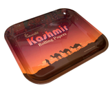 Kashmir 13.5x11 Tray Rolling Papers Brand Vintage Style/Cigarette Rolling Tray