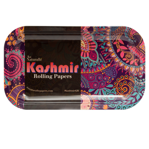 Kashmir 10.5x6 Tray Rolling Papers Special Edition - Cigarette Rolling Tray 10x6