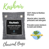 Kashmir Bamboo Charcoal Air Purifying Bag - 4 Pack