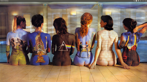 36″x24″ Pink Floyd Painted Backs Poster