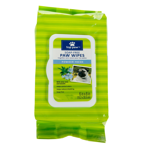Soap Free Puppy Paw Wipes Powder Fresh