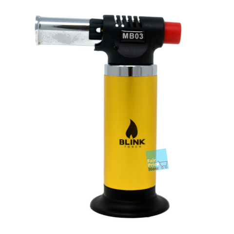 Blink MB03 Yello Refillable Butane Micro Mini Torch Soldering Welding