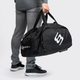 Black Transformer Gym Bag