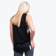 Black Drop Arm Tank - Ladies