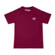 Wonky Cherry Red Athletic Fit Tee