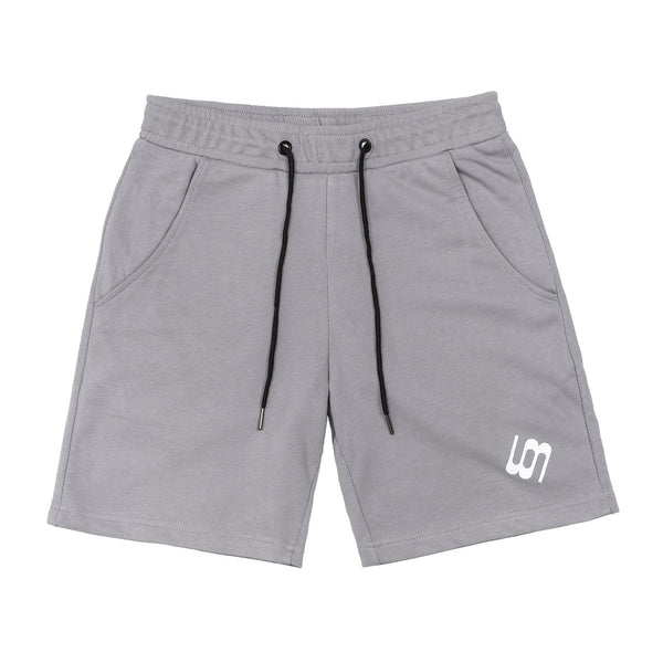 Wonky Cool Grey Shorts