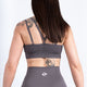 Graphite Grey Seamless Sports Bra