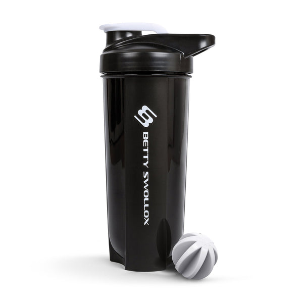 Wonky Black Shaker Bottle 700ml