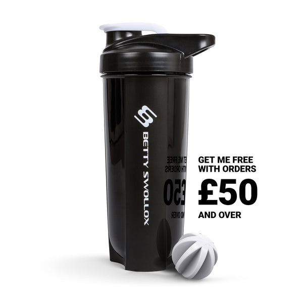 Black Shaker Bottle 700ml