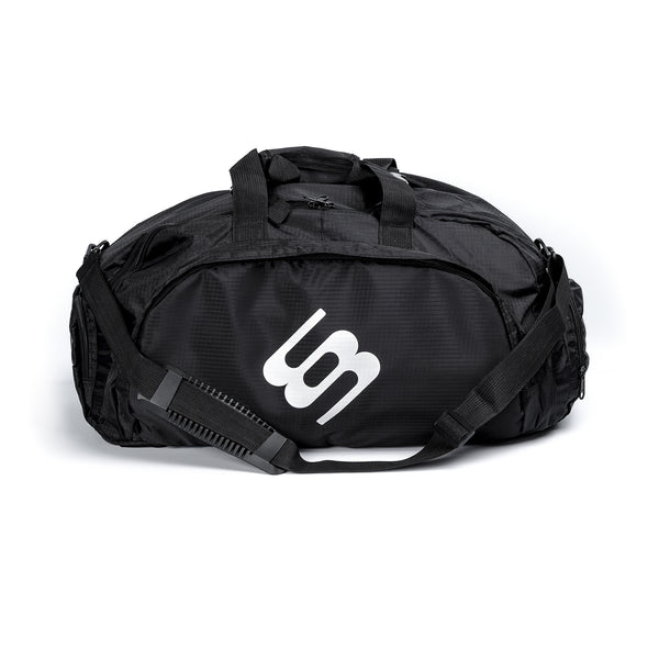 Wonky Black Transformer Gym Bag