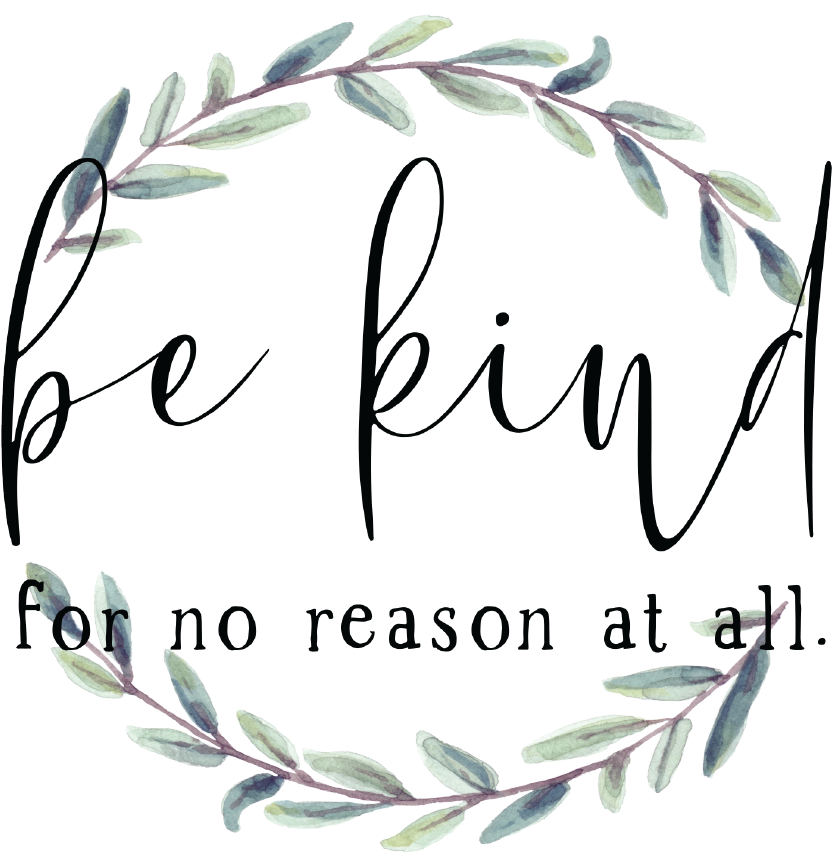 Be Kind For No Reason At All Sticker