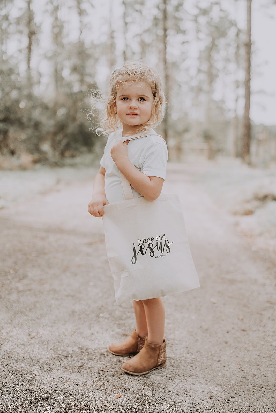 Juice + Jesus Toddler Tote