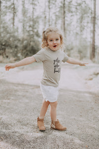 Girls Who Build Toddler Tee