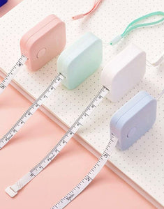 Pastel Tape Measure