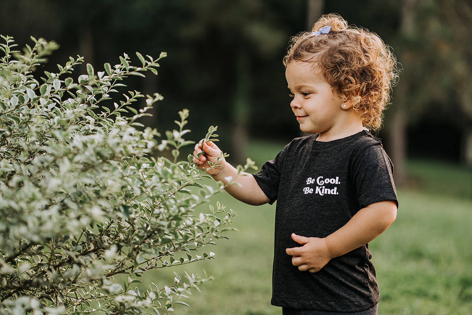 Be Cool. Be Kind. Pocket Style Baby/Toddler Tee