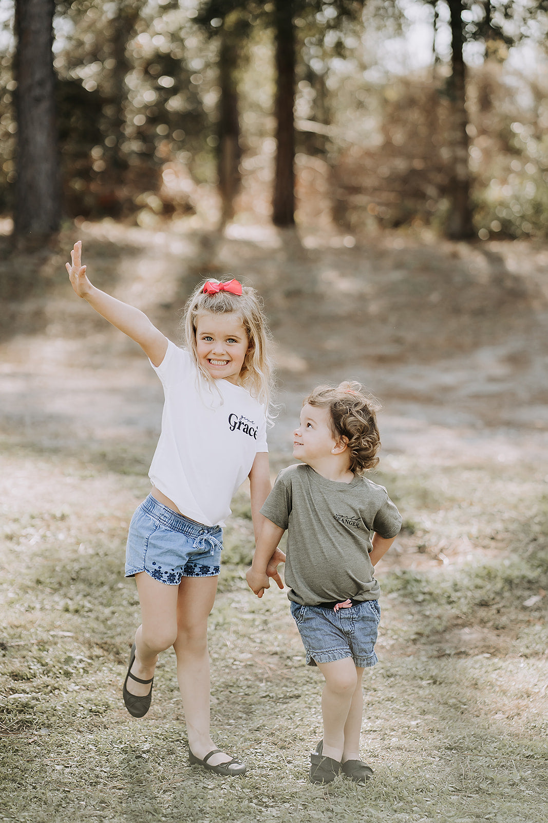 Give Grace - Toddler Pocket Style Tee
