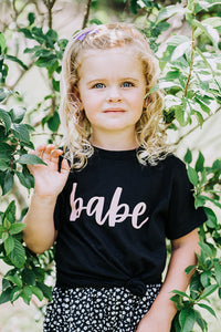 Babe - Baby/Toddler Tee