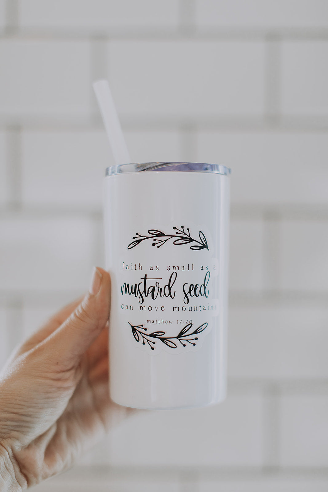 Faith as Small as a Mustard Seed Enamel Mug