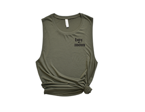 Boy Mom Muscle Tank