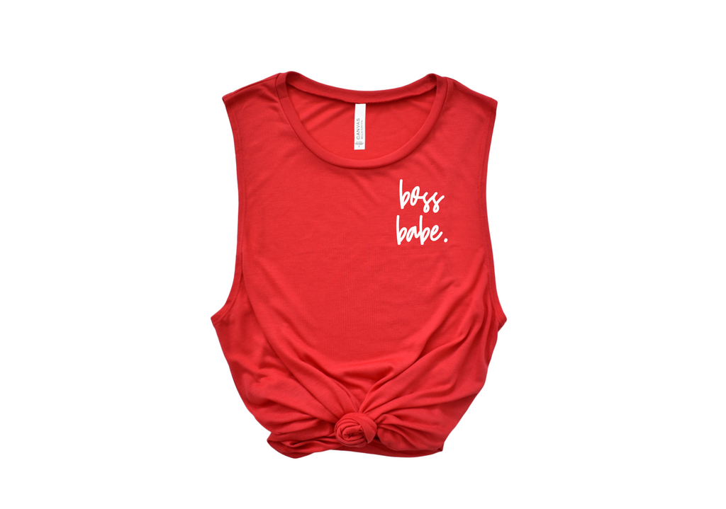 Boss Babe Muscle Tank