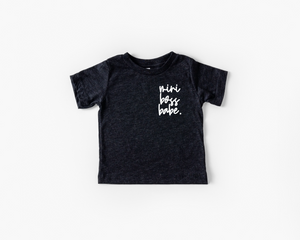 Mini Boss Babe Toddler Tee