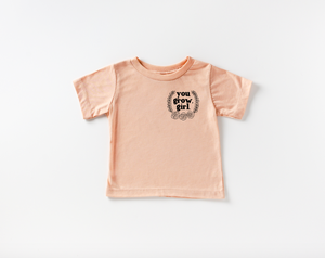 You Grow Girl Pocket Style Baby Tee