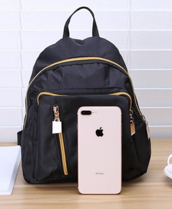Mini Jet Black Backpack