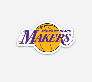 Support Black Makers™ Sticker