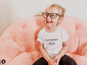 Cartoons & Chill Toddler Tee