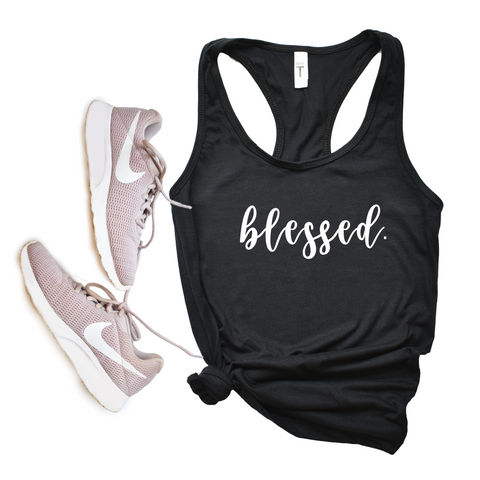 Blessed Racerback Tank