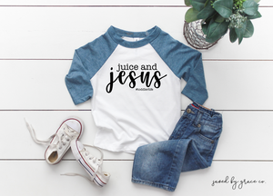 Juice & Jesus Toddler Tee