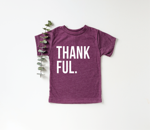 Thankful Toddler + Baby Tee