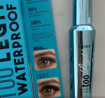 We test out the latest mascara from ALDI