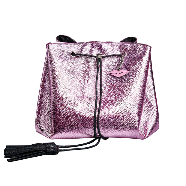 Donna May London Pink Lay Flat Makeup Bag
