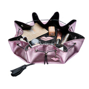 Metallic Pink Makeup Bag - Gifts for Teens