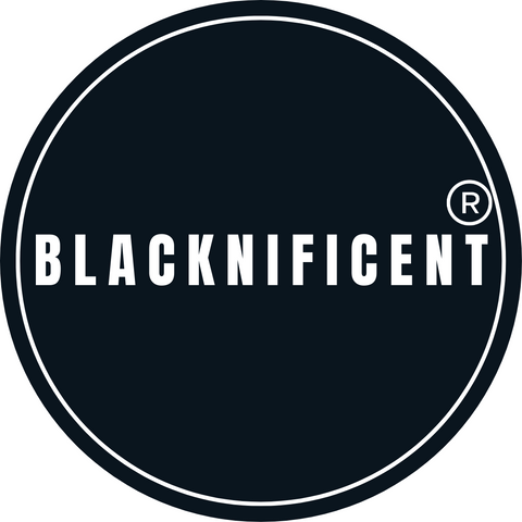 Blacknificent Logo Blk