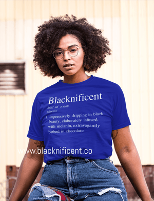 Blacknificent Melanin Poppin Summer Tee