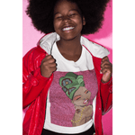 Afro Pop Hey Queen Unisex Tee