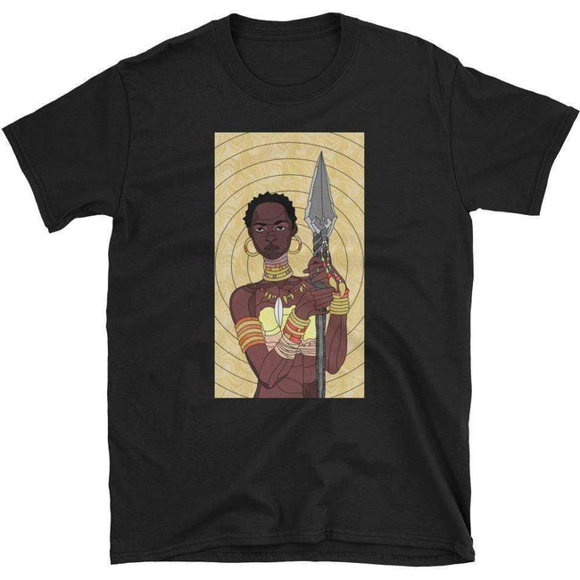 Blacknificent Printed Tee Black / S Stained Glass Warrior - Unisex Tee