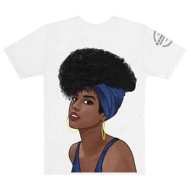 Blacknificent  Printed Tee DENIM BAE Oversized Double Sided Tee