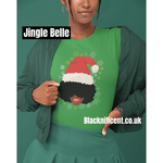 Blacknificent Printed Tee Jingle Belle Tee