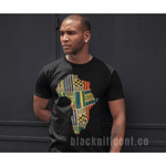 Blacknificent Printed Tee Kente Africa Unisex Tee
