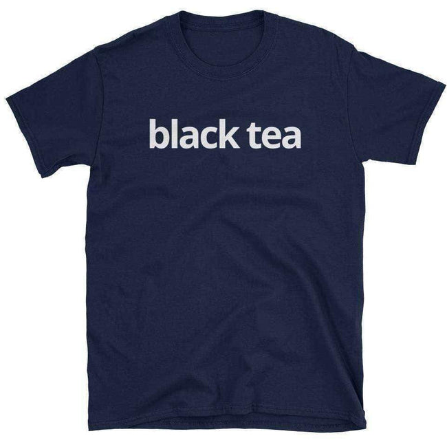 Blacknificent Printed Tee Navy / S Black Tea Unisex T-Shirt