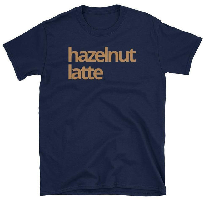 Blacknificent Printed Tee Navy / S Hazelnut Latte Unisex T-Shirt