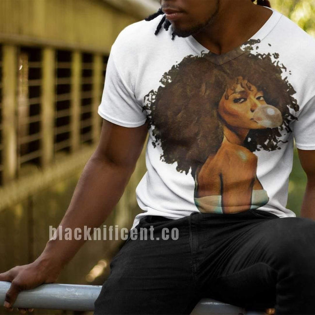 Blacknificent Printed Tee Savannah Oversized Blacknificent Print Tee