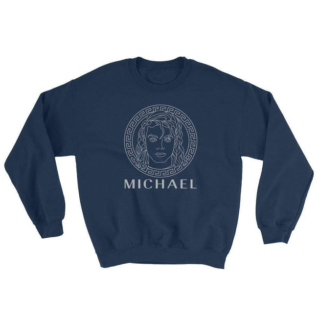 Blacknificent Sweatshirt Navy / S Michael Medusa Sweatshirt