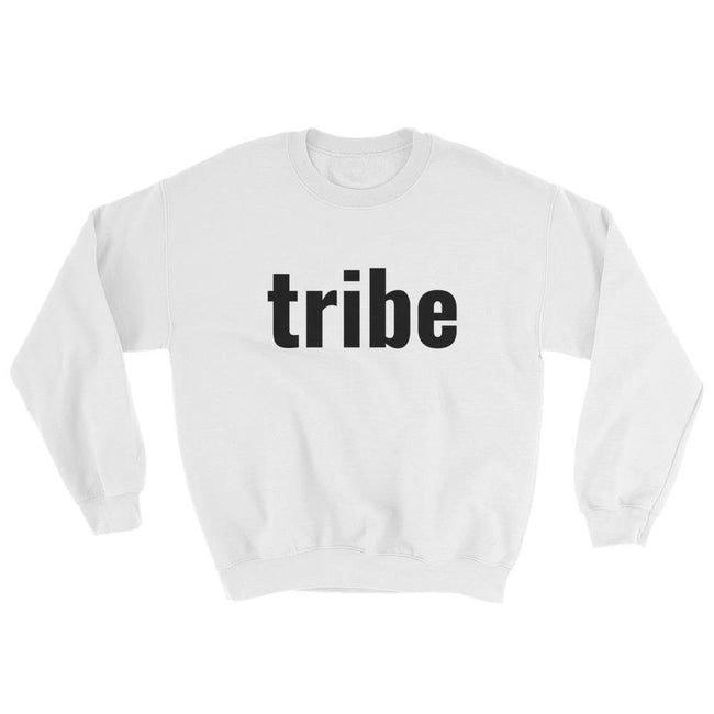 Blacknificent Sweatshirt White / S Tribe Sweatshirt