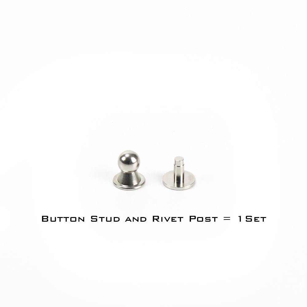 itm rivet brass uk cf stud back button leather nail screw solid arc