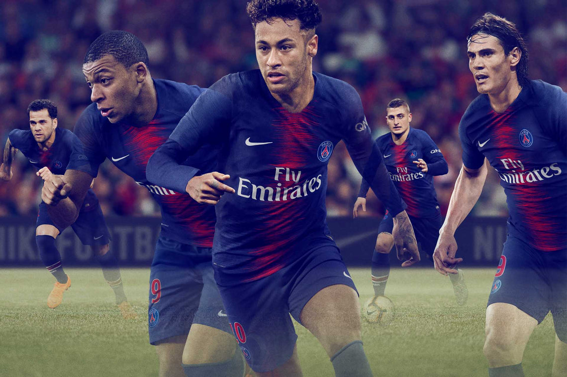 Nike launch new PSG Home Jersey 2018-2019